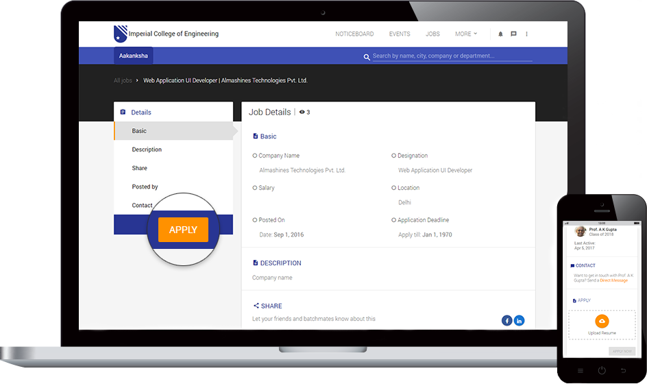 AlmaShines - Alumni Website & Online Alumni Management System